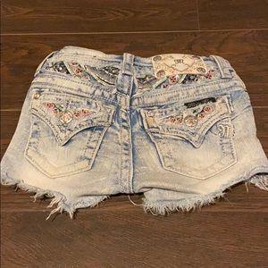Miss Me Girls Bling Shorts
